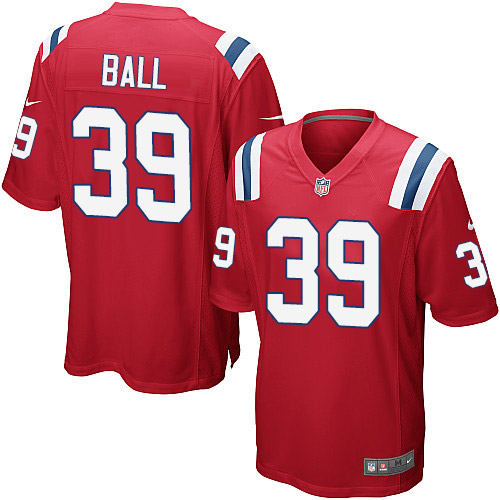 Montee Ball Nike New England Patriots Game Red Alternate Jersey